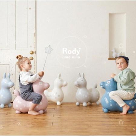 乗用玩具Rodyの新シリーズ「Rody nino nino」がDebut