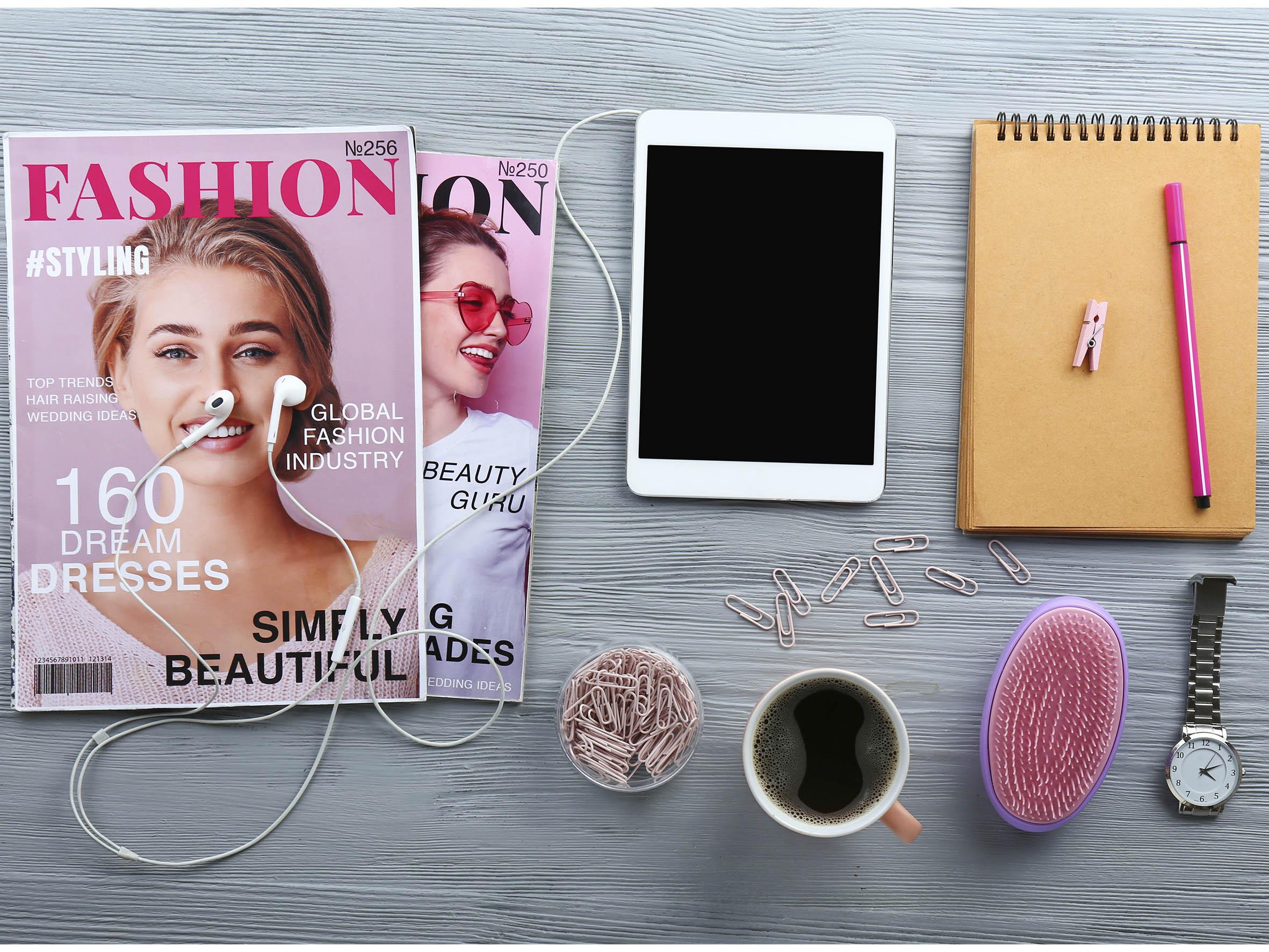 ファッション誌とネットの連携
