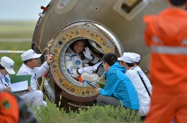 China Completes Longest Manned Space Mission Yet | Nature ...