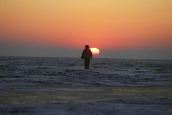 Frozen Lake Chagan