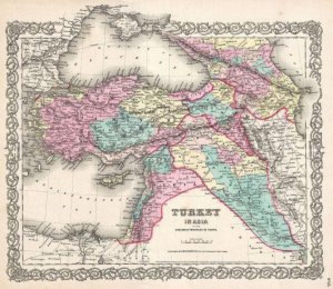1855_Colton_Map_of_Turkey,_Iraq,_and_Syria_-_Geographicus_-_TurkeyIraq-colton-1855