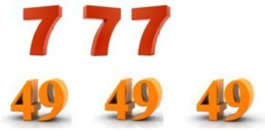 3 fois 7 et 3 fois 49