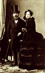 Disderi,_Adolphe_Eugène_(1819-1890)_-_French_emperor_Napoléon_III_and_his_wife_Eugenie_-_1865
