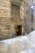 Sinagoga Mayor de Barcelona, The Main Synagogue, one of the oldest synagogue's in Europe, 13th Century, Spain