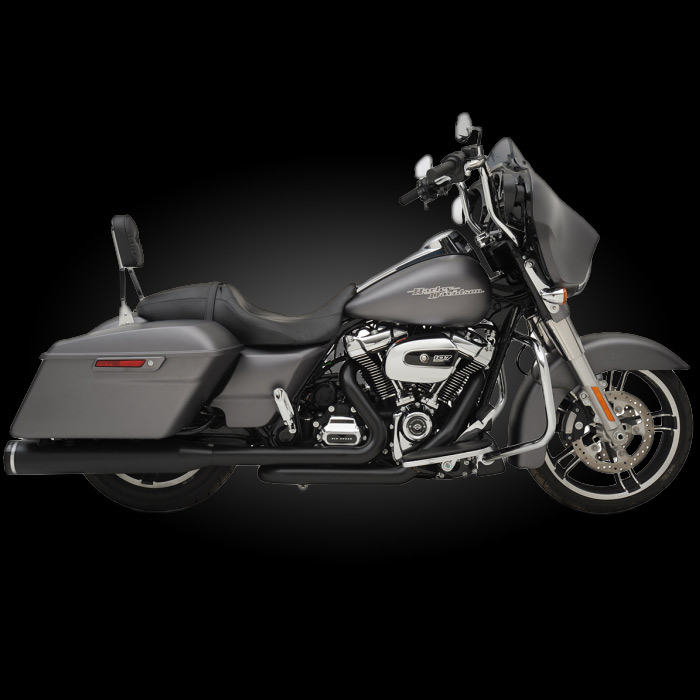khrome werks 200810a exhaust for 2017 newer harley touring models