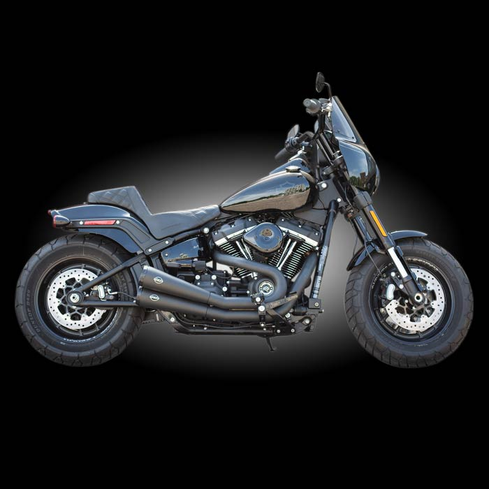 s s cycle grand national 2 into 2 exhaust for 2018 newer softails