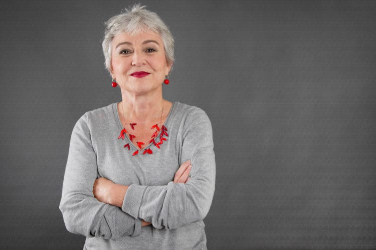 Gray Hair And Makeup Tips