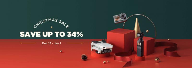 DJI Christmas Sale 2019