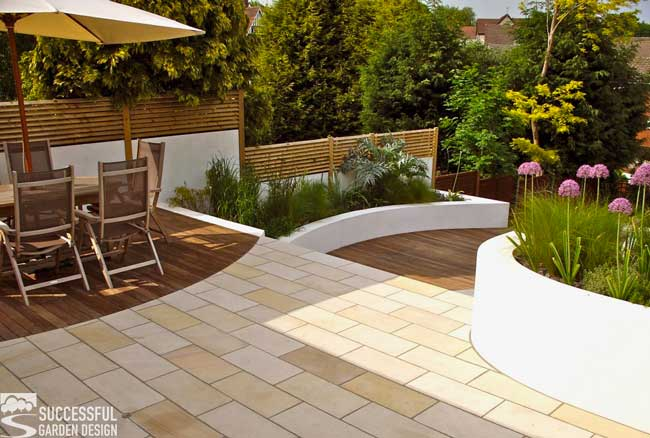 Sloping garden ideas - successful landscaping design tips ... on Garden Ideas For Sloping Gardens id=28771