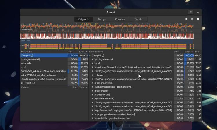system profiler screenshot