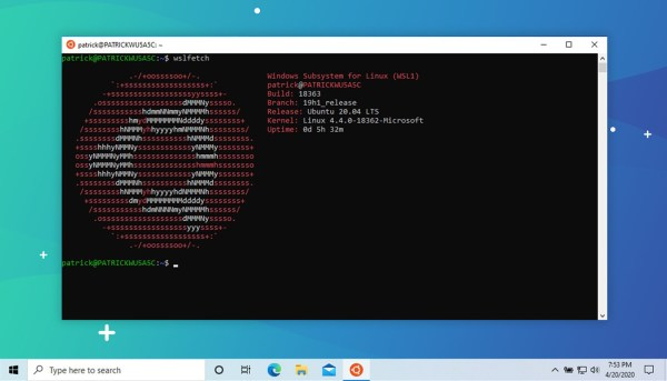 Ubuntu 20.04 is Now Available from the Microsoft Store ...