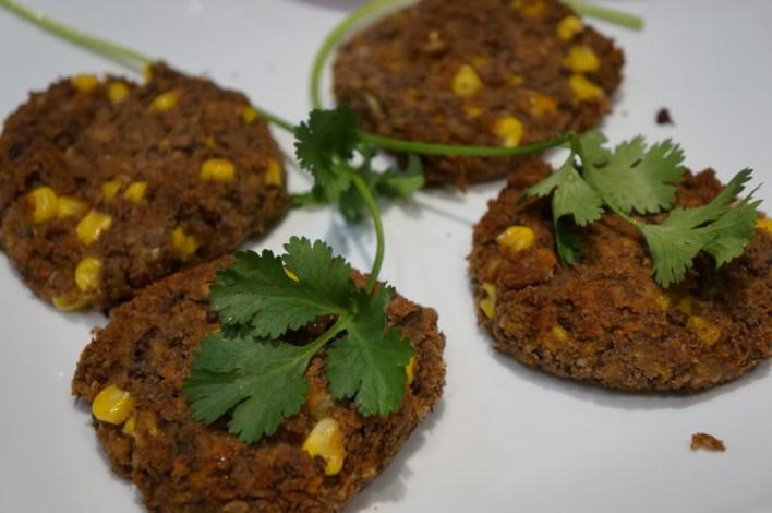 Vegan Adzuki and Pinto Bean Burger Patties