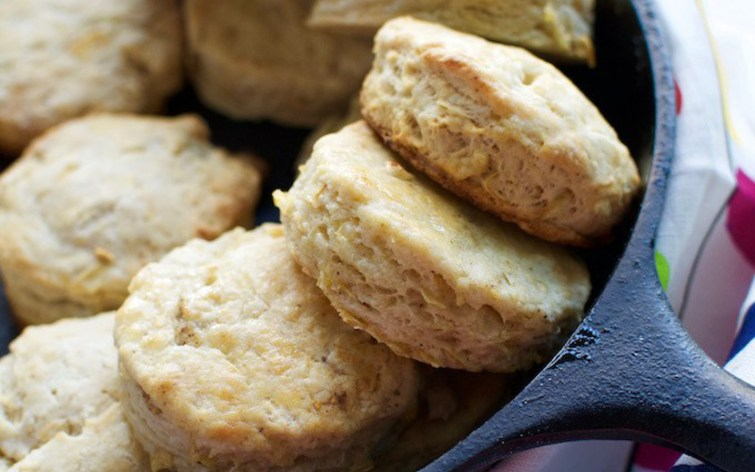 Apple Chili Biscuits
