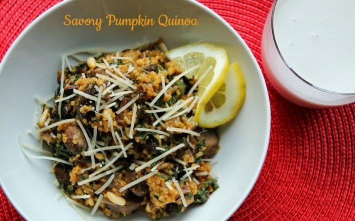 Savory Pumpkin Quinoa