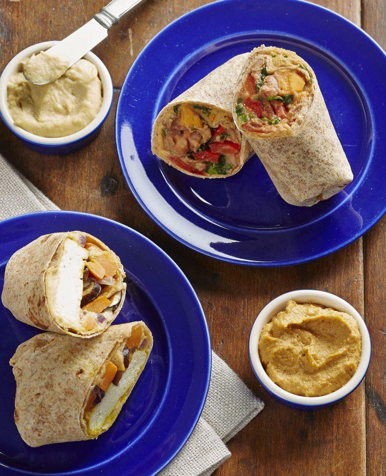 Vegan Easy Bean Burritos