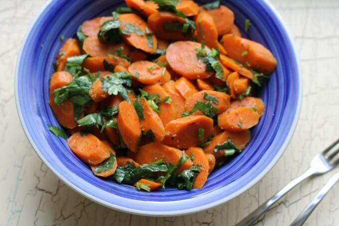 Vegan Tunisian Carrot Salad