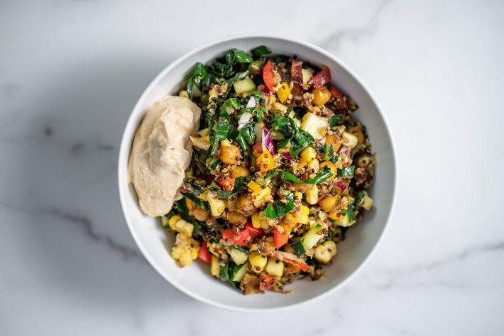 Vegan Ayurvedic Jamaican Quinoa Salad