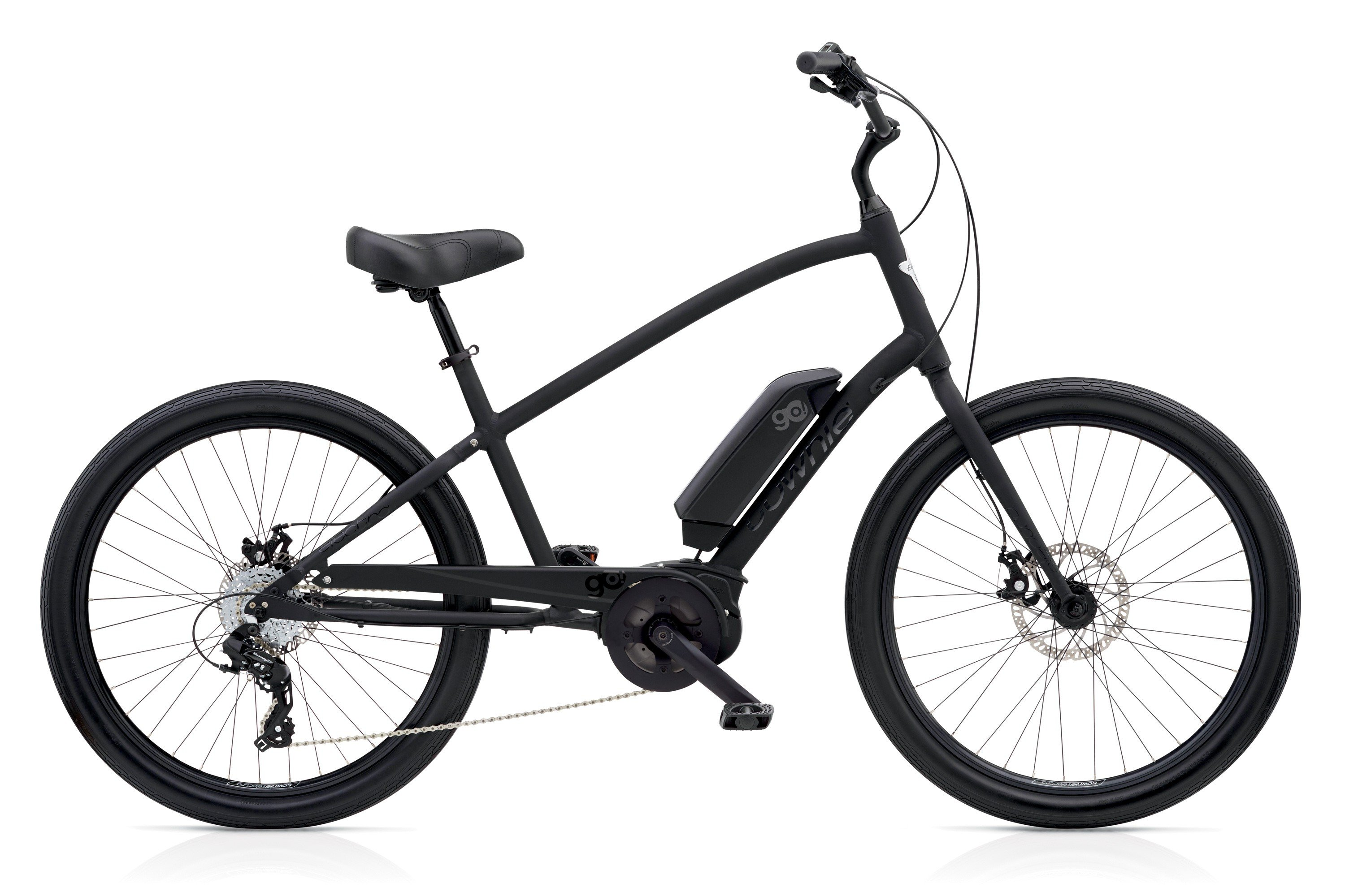 Electra Townie Go 8d Mens In Black 95