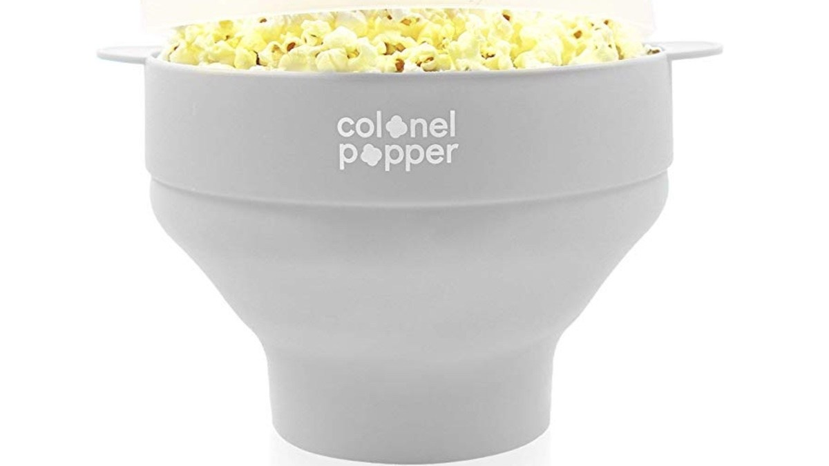 colonel popper microwave popcorn popper