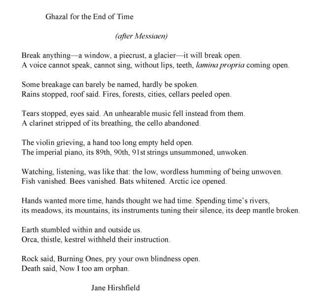 Poet Jane Hirshfield Fuses Science, Loss, and Wonder in Her New