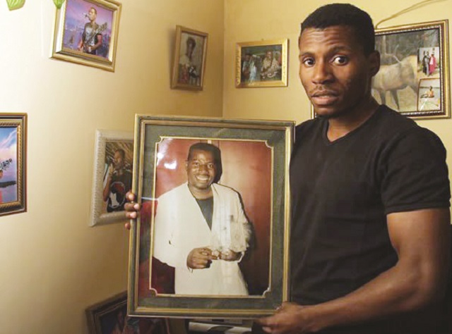 """Until he got to Grade Six, Peter Moyo did not know that he was Tongai """"Dhewa"""" Moyo's son."""