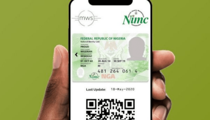 NIMC mobile app