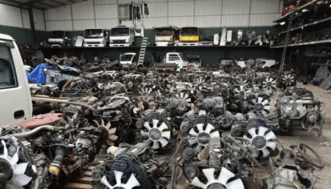Nnewi New Motor Spare Parts market