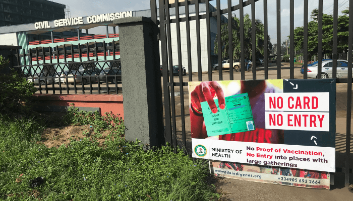 Edo blocked access to government office