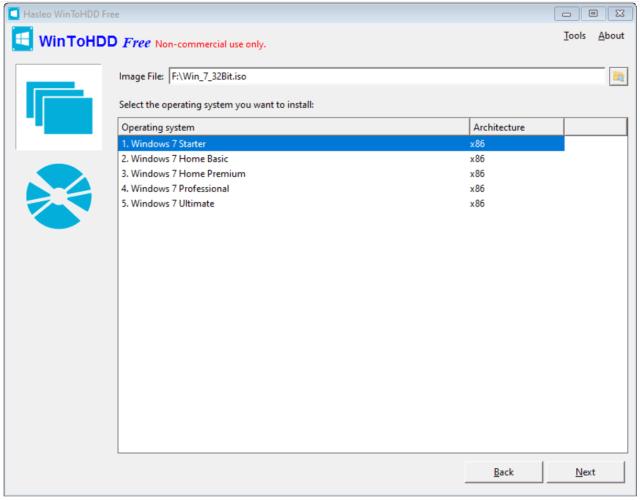 WinToHDD: Install, Reinstall, Clone Windows 199/199/199.19/199/19/Vista