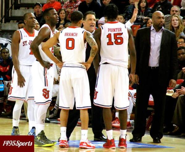 St. John's MBB Squares Off with Xavier on Monday at MSG ...
