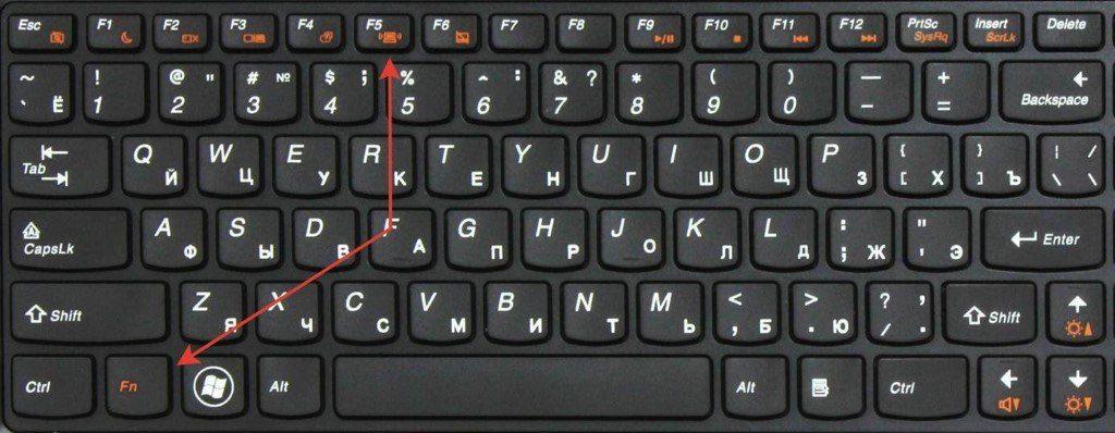 включить wifi fn f5 lenovo g575