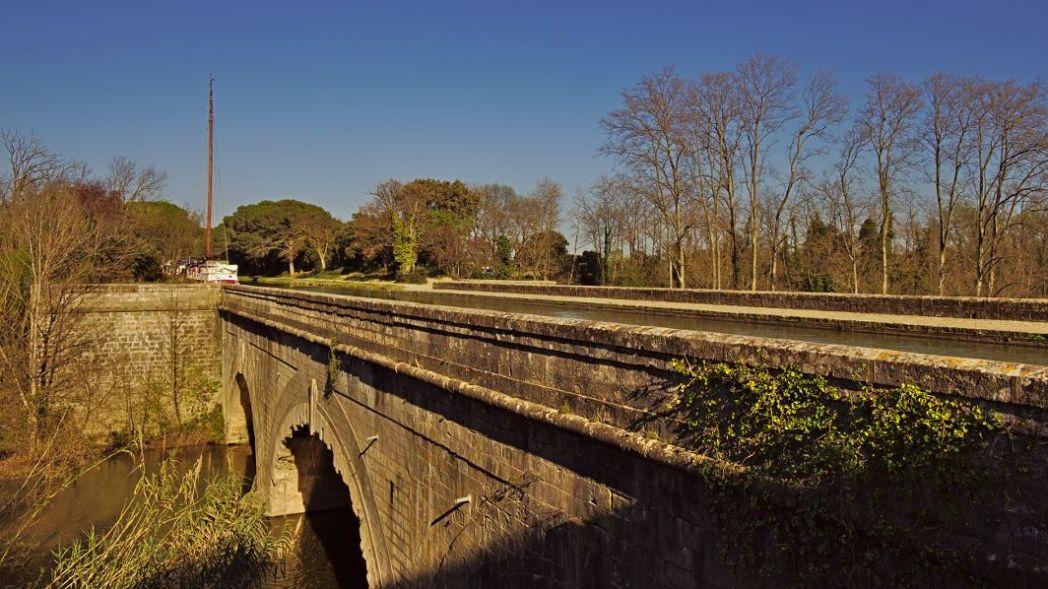 Kanalbrücke bei Mirepeisset