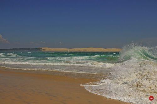 Cap Ferret mit Blick auf die Dune du Pilat