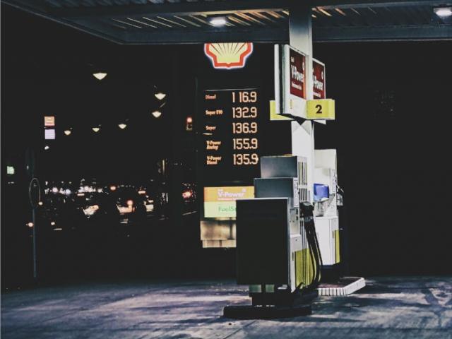 Tankstelle in Solingen