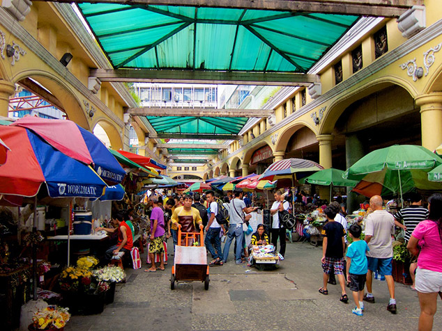 A visit of the Quiapo Market in Manila