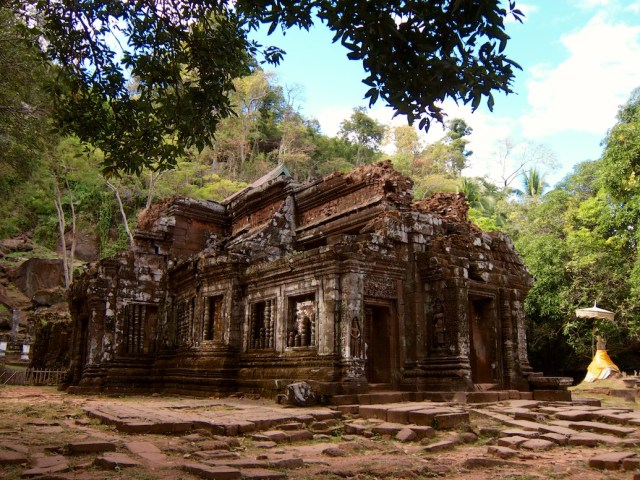 Vat Phou Ruins in Southern Laos