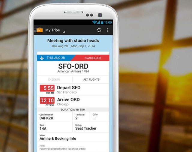 One of the best travel apps in March 2015: TripIt