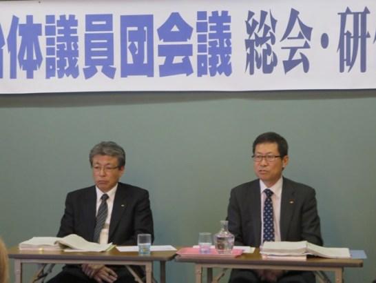 左が県の健康福祉部・子ども課長。右が環境部地球温暖化対策課長です。ありがとうございました。