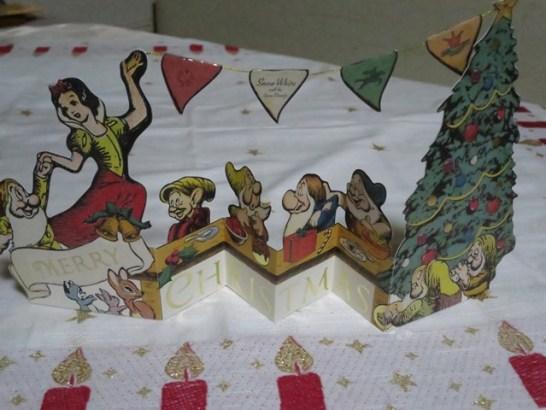 白雪姫のかわいいカードです