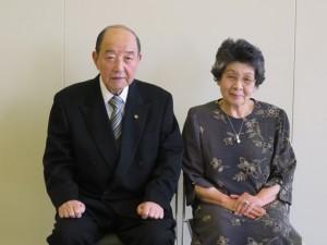 ダイヤモンド婚を迎えられた成澤栄一ご夫婦