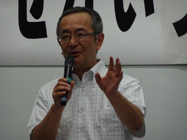 市社会事業協会「ななせ仲まち園」の青柳所長