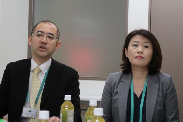 セブン&アイ・クリエイトリンクの開発担当・伊藤さんとグランツリー支配人の斉藤さん