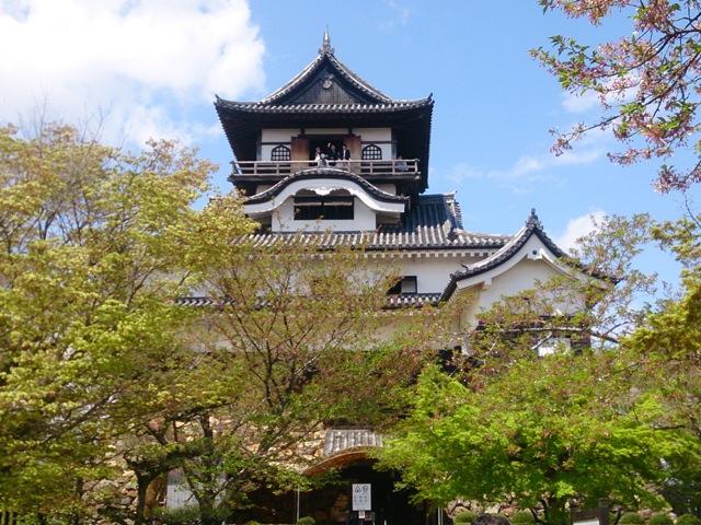 休憩時間に国宝犬山城を見学