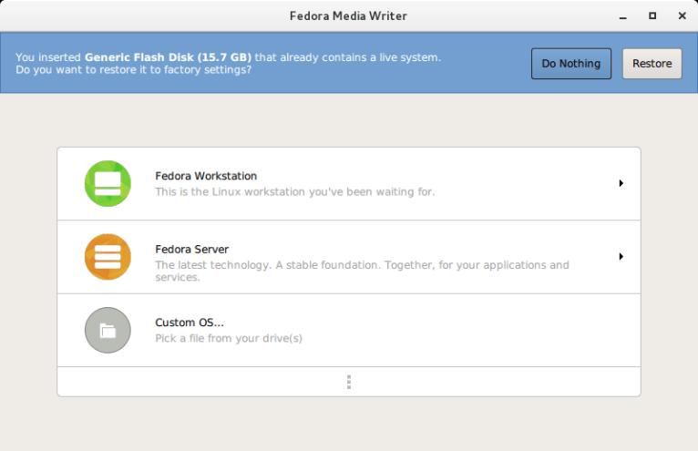 Fedora Media Writer Test Day - 2016-09-20