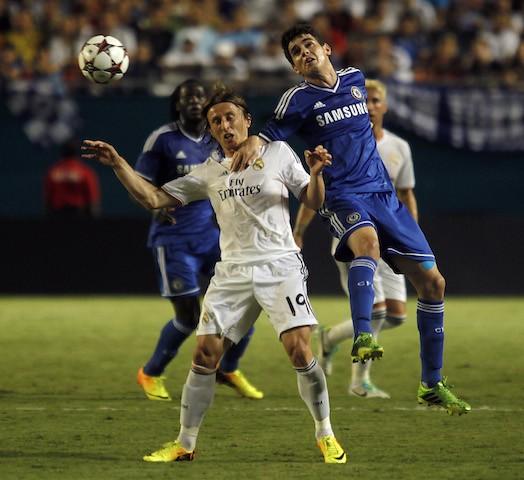 Champions League 2013-14 Quarterfinals: Chelsea vs. Real ...