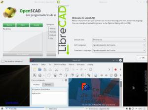 Cad en Knoppix 7.6