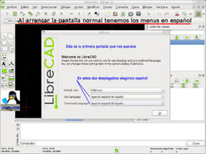 Poner LibreCAD en español