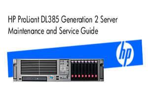 Manual Servidor HP Proliant DL385 G2