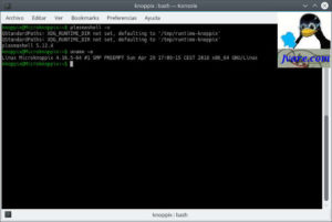 Knoppix 8.2 plasma version