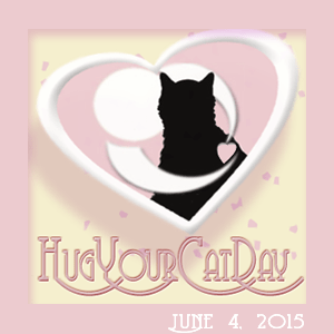 Hug Your Cat Day 6.4.2015